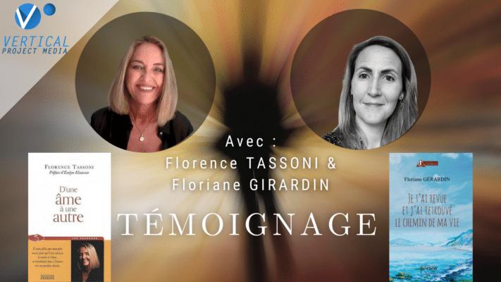Florence TASSONI & Floriane GIRARDIN Signes d'amour depuis l'au-delà
